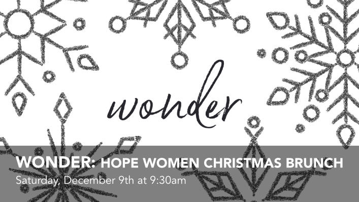 Click to check out the Hope Women Christmas Brunch