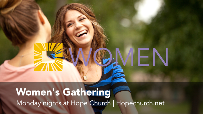 Click to check out the Women's Gathering