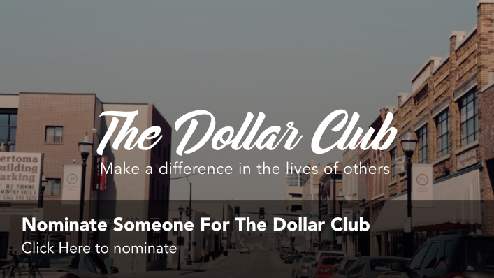 Click to nominate someone for the Dollar Club.