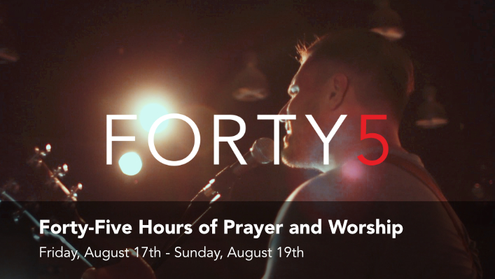the Forty5 at Hope Church.