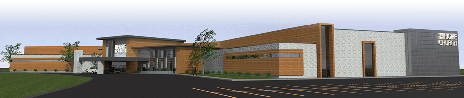 Hope Church Building Render