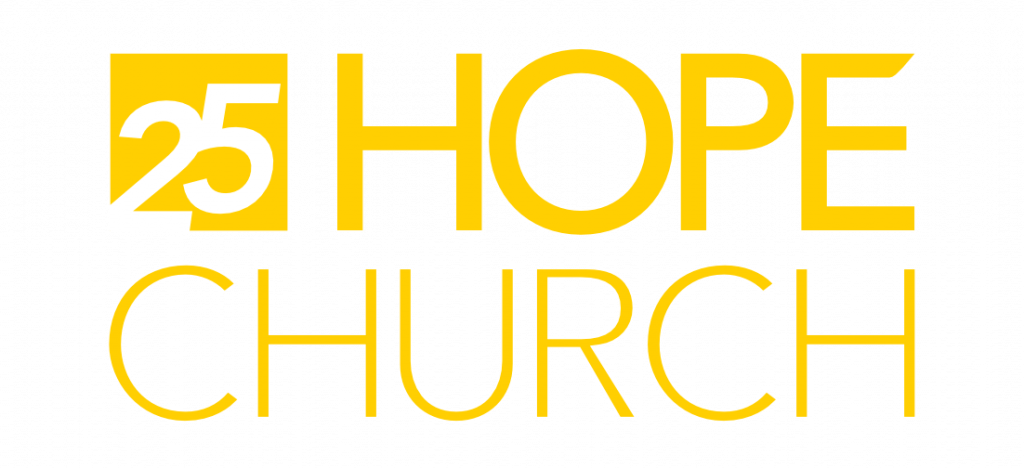 Hope Church 25 Logo